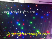 RGBW LED  2*3M  star curtain Sky Twinkling Star Cloth Curtain for Music Concert, Party Decoration DJ LED
