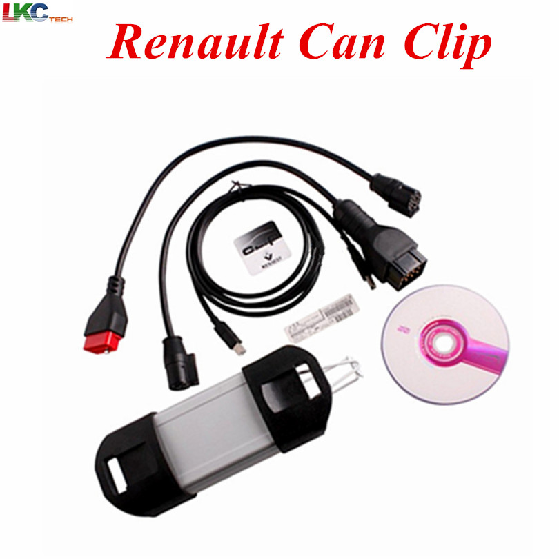 2017 Top Selling Auto Car OBD2 Renault Can Clip Renaul V168 Diagnostic Scanner High Performance Newest V168 For Renault Can Clip(China)