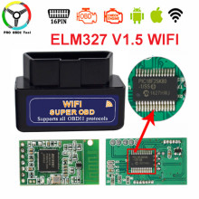 Buy Super Mini ELM327 V1.5 Wifi PIC18F25K80 Chip ELM 327 V1.5 WI-FI OBDII OBD Car Diagnostic Tool Interface Android IOS for $5.60 in AliExpress store