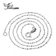 JewelryPalace Starry Chain 16 18 Inch Necklace Wholesale Price Only Send With Pendant Pure 925 Solid Sterling Silver Jewelry(China)