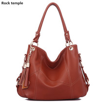 New Women Bag Pu Leather Tote Brand Name Bag Ladies Handbag Lady Evening Bags Solid Female Messenger Bags Travel Fashion Sac(China)