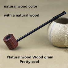 Grade Wood Pipe Smoking Pipes Portable Natural Wood Patterns Creative Herb Tobacco Pipe Gifts Weed Grinder Smoke