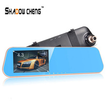 Original Car Camera 1080P DVRs Video Recorder DVR Registrar With Rearview Mirror Dashcam Camcorder With Rear View Camera