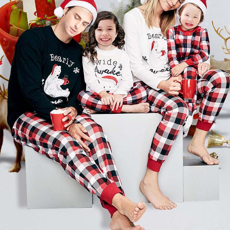 2019 2018 Family Women Men Pajamas Matching Outfits Christmas Family ... 4c2f2eab7