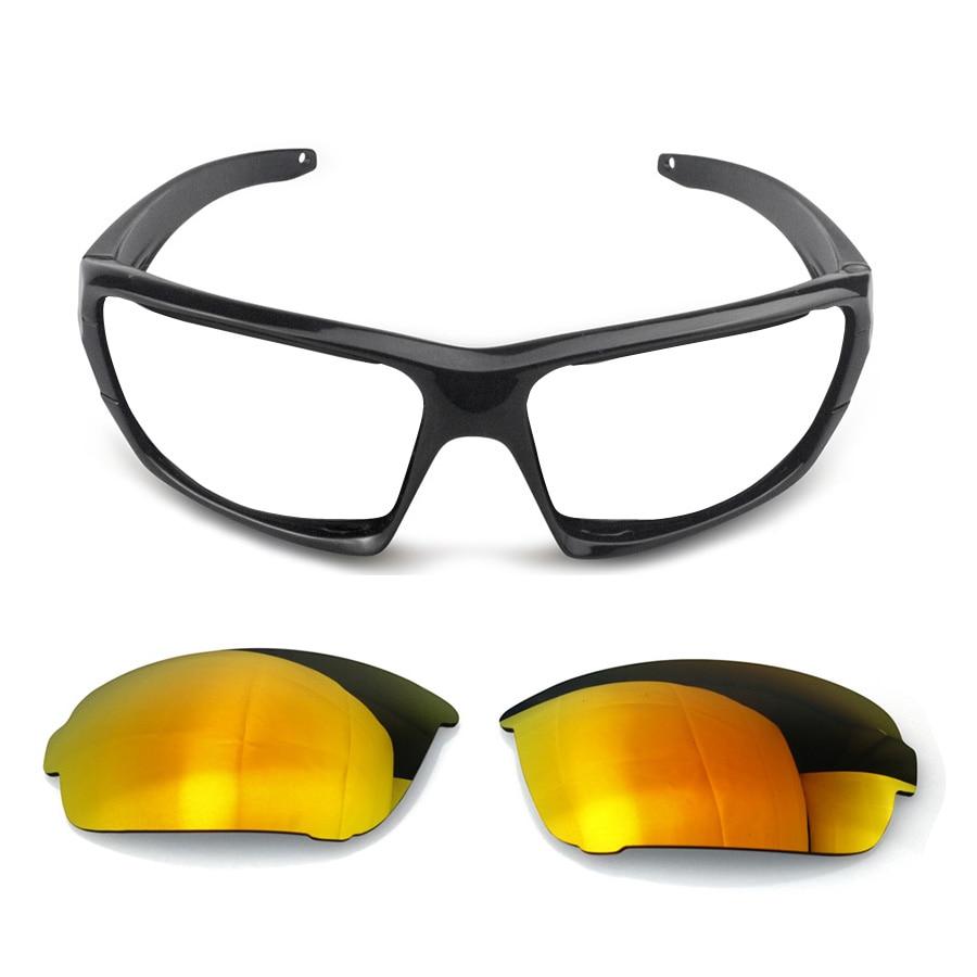 Replaceable lens glasses