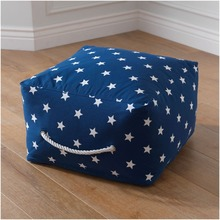 "Pouf Ottoman stool with 420D Canvas Material 19.8""x12"" inches COVER only supply without inside filler"