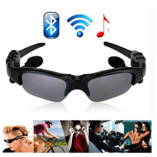 Sunglasses Wireless Bluetooth Headphone headset Telephone Driving Glasses earbuds with Mic Eyes Glasses For iPhone Smartphone
