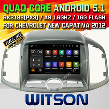 WITSON Android 5.1 Quad Core CAR DVD for NEW CHEVROLET CAPTIVA 2012-2013 SAT NAV+1024X600 SCREEN+DVR/WIFI/3G+DSP+RDS+16GB flash