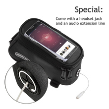 Besegad Waterproof Bicycle Cycling Bike Handlebar Bag Holder Case Pouch with Touch Screen Capability Front Pocket 4.8-5.5 Inch(China)