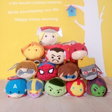 9cm mini size Tsum Tsum Marvel Mini Plush Soft Toys TSUM plush doll Brinquedos Children Toys for Christmas gifts