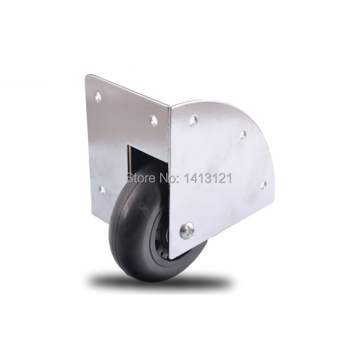 free shipping wheel mute caster wooden box wheel rod box built-in industrial wheel airbox toolcase bearing  wheel hardware<br>