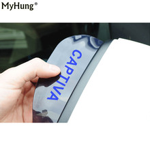 Car Rearview Mirror Shelter Board Shield Car Eyebrow Rain Cover For Chevrolet Captiva 2pcs Snow Guard Shield Sun Shade Cover(China)