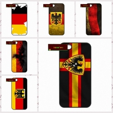 National DE Germany Flag Eagle Cover case for iphone 4 4s 5 5s 5c 6 6s plus samsung galaxy S3 S4 mini S5 S6 Note 2 3 4  UJ1168