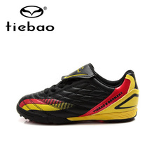 Tiebao Children Kids Boys TF Turf Sole Football Boots Outdoor Sport Training Shoes Outdoor Soccer Shoes chuteira futebol
