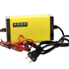 Auto Car Motorcycle DC 12V MAX Charging Current 3A Smart & Fast Universal Battery Charger With Charging Digital Display