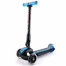 Buy Three Flashing Wheels Children Scooter Gravity Steering Foldable Free Installation Toddler Kids Baby Walker Outdoor 3 Tire for $129.01 in AliExpress store