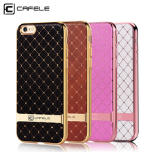 CAFELE Case For iphone 6s cases Luxury Plating TPU silicone phone cover For iphone 6s plus Business style soft phone case