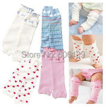 Breathable comfortable 4 color beautiful children summer thin leg warmers lovely love Kneepad 4pairs/lot free ship[ping(China)