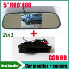 CCD car rear view parking camera for BMW 3 Series 5 Series BMW X5 X1 X6 E82 E88 E84 E90 E91 E92 E93 E60 E61 E70 E71 car monitor