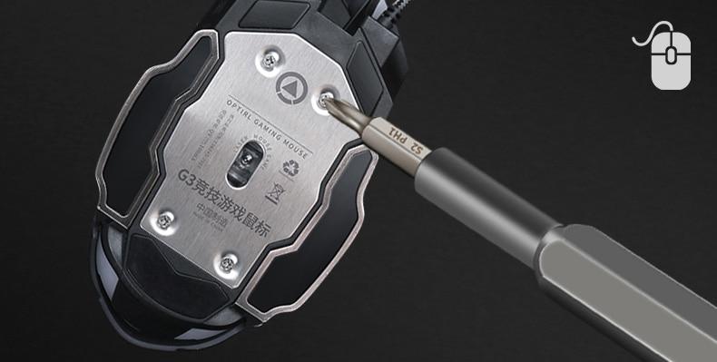 Precision Screwdriver Sets 21PCS Mini Magnetic Screwdriver Set for Phone PC Ipad Camera Repair DisassembleTools