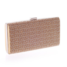 Brand Designer Women Fashion Luxury Diamonds Evening Dress Bag Wedding Party Purse Clutch Messenger Bags Small Mini Ladies Gifts