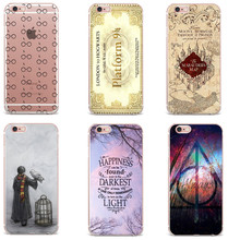 Soft TPU Phone Cases Avada Kedavra Bitch Shirt Harry Potter Design Clear Cover Cases For iPhone X 8 7 6 6s 6Plus 5S SE FUNDAS(China)