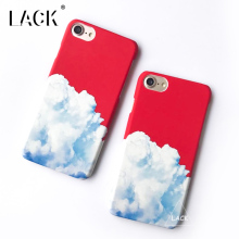 LACK Phone Case For iphone 6 6S 7 Plus Beauty Scenery Painting Cases Cute Cartoon Blue Sky White Clouds Back Cover Hard Capa NEW
