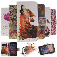"Painting Stand Flip Leather Cover Case For ASUS Zenfone 2 (5.5"") ZE551ML ZE550ML /  Zenfone 5 (5.0"") A501CG Cell Phone Cases"