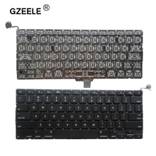 GZEELE New 2009 2010 2011 2012 Year A1278 Laptop US Keyboard For Macbook Pro A1278 Keyboard Layout Replacement without frame(China)