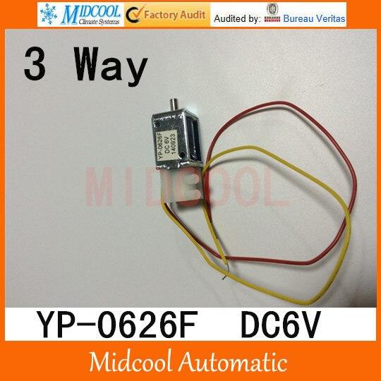 Mini  solenoid valve,plastic micro valve 3 way YP-0626F port 2mm DC6V<br><br>Aliexpress