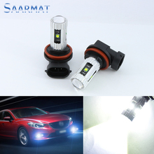 2x For 2013 Mazda CX-5 RX8 2004-2008 H8 H11 High Power w/ CREE CHIPS  25W Car special front lamps LED Fog Lights lamps Bulb
