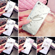 "Buy Lenovo S60 Case, 6 style 3D Fashion Rhinestone Dream girl Clear plastic Mobile phone protection shell Case Lenovo S60 5"" for $4.00 in AliExpress store"