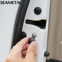 Unversal Car Door Lock Screw Protection Protector Covers Waterproof Doors For BMW Audi Ford Chevrolet Honda KIA Auto Accessories