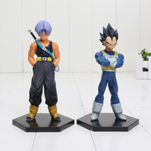 Anime Dragon Ball Z Trunks Vegeta 1/8 scale PVC Action Figure Collectible Model Toys size in 6''15cm