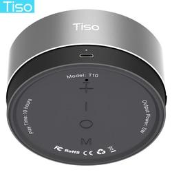 Тисо 10-15 часов непрерывной работы динамик Bluetooth беспроводная мини-портативный 5 Вт громкоговоритель открытый IPX5 водонепроницаемый 3,5 мм AUX TF ...