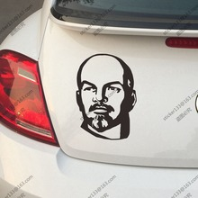 Lenin Car Trunk Sticker Decal Vladimir Ilyich Ulyanov Vinyl Russian Soviet Russia