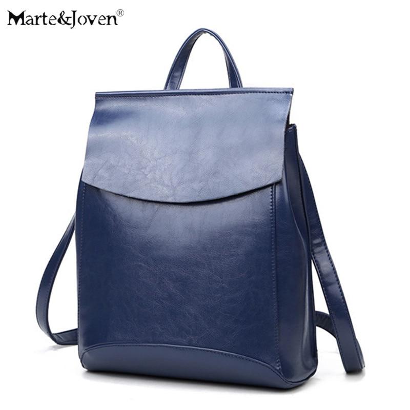 Famous Brand Design High Quality Women Leather Backpacks Teenager Girls Best School Back Pack Leather Shoulder Strap Rucksack<br>
