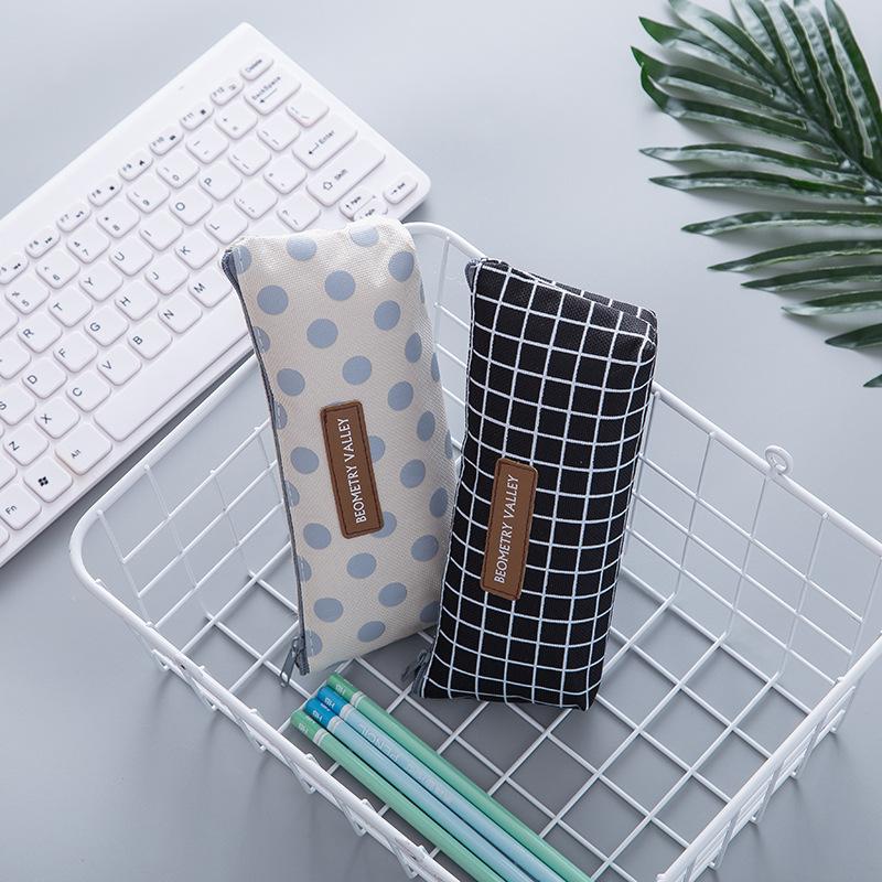 Astuccio Kawaii astucci per Scuola Pencil Cases for Teenage Girls Large Pencil Cases for Teenage Girls Cute Teenage Girl Pencil Case Khaki