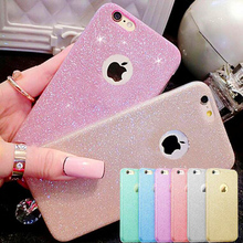 Buy iPhone 7 Case Luxury Glitter Bling Shiny Sparkle Silicone Soft Shockproof Phone Cases Covers iPhone 5s SE 6s 7 Plus for $1.25 in AliExpress store
