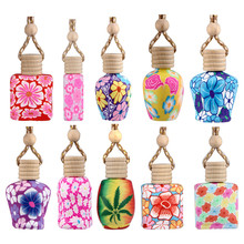 1PC Car Styling The Original Eco-Car Fragrance Bottle Polymer Clay Car Interior Accessories Free Shipping&Wholesale