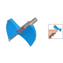 Promotion! Hot Sale 70mm Blue Gray Metal Carbide Cutting Diameter Hinge Boring Drill Bit