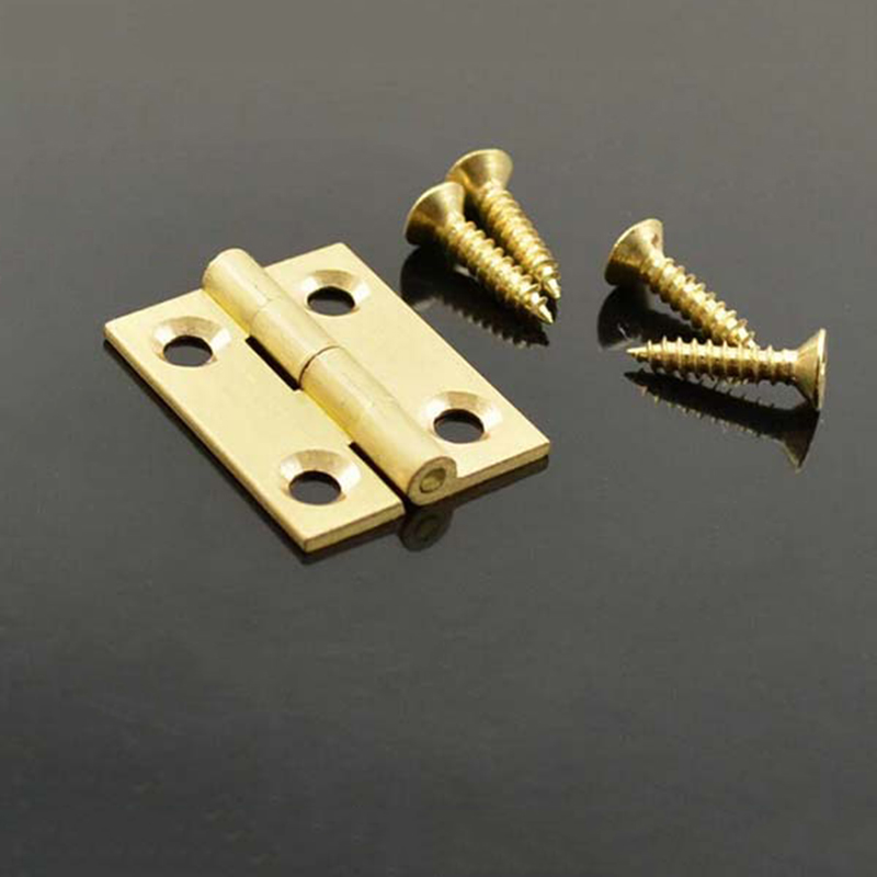 High Quality Pure copper mini hinges Decorative bo...