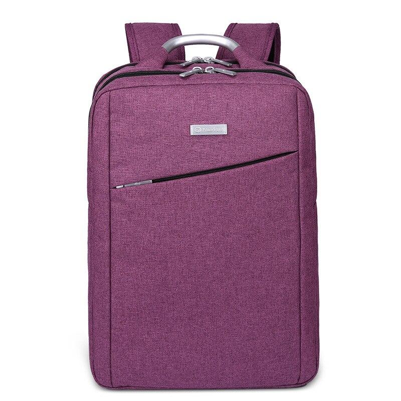 Brand Quality Waterproof Travel 15 Notebook Bag Unisex Bag Backpack Female Backpack Laptop Backpack Bag for Women Purple<br>