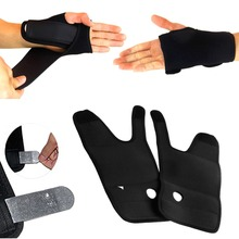 1 Pair Carpal Tunnel Splint Arthritis Sprains Wrist Support Hand Brace Band