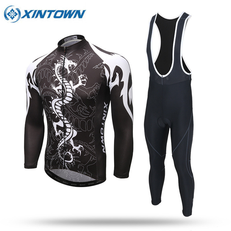 2017 New Cool Dragon Long Sleeve Cycling Jersey MTB Bike Clothing Wear Spring Breathable Bicycle Clothes Ropa De Ciclismo<br><br>Aliexpress