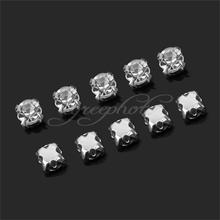 2017 New 200x Shiny Sparkle Crystal Clear Rhinestone Art Deco Craft Dress Making 4mm