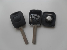 10PCS/Lot Brand New Uncut Blade Fix For Ssang Yong Transponder Key Shell ,Replacement Key Case