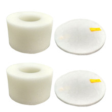 2 Sets HEPA Filter and Foam Felt Filter kit for Shark Rotator Powered Lift-Away Speed NV680,NV681,NV682 Compare to Part#: XHF680(China)