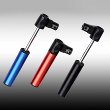 3 Colors Outdoor Mini Portable Bike Pump Ultra-Light Bicycle Air Pump Mountain Bike Cycling Tire Inflator to Presta Conversion(China)