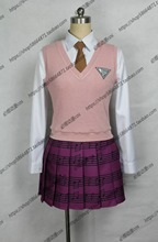 Danganronpa V3 Killing Harmony Akamatsu kaede Cosplay Costume Anime Custom Made Uniform